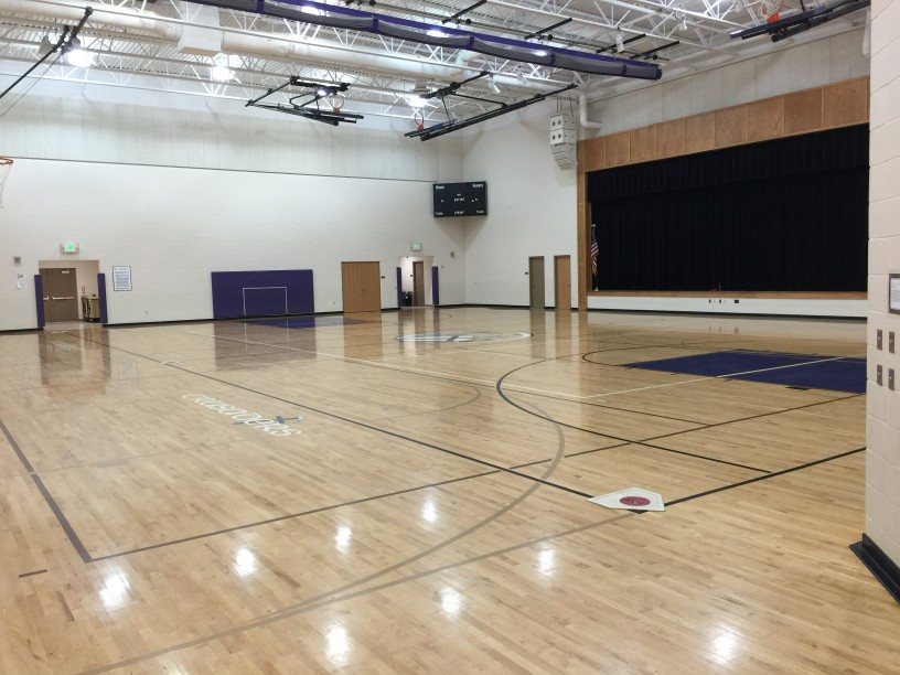 Gymnasium rental crown point christian school for How to build a basketball gym